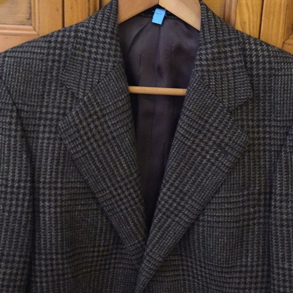 Macy's Other - BROWN PLAID SUIT JACKET